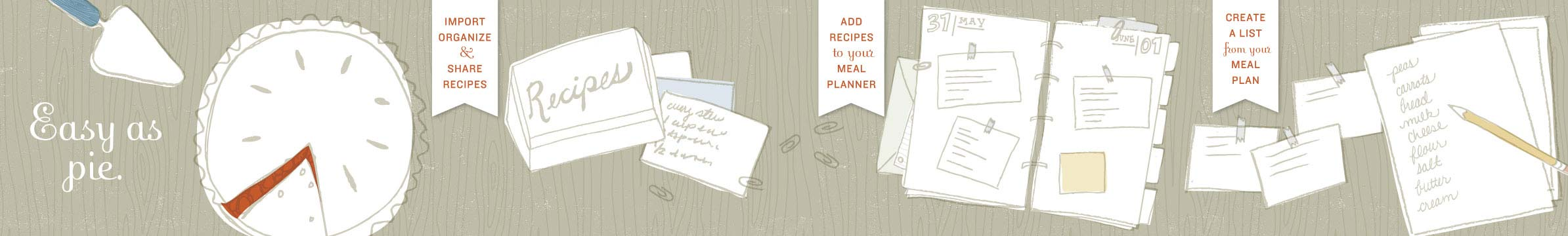 Recipe Book Meal Planner Shopping List Tour